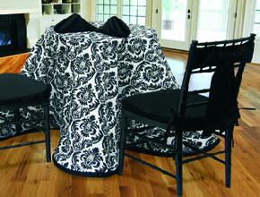 Custom Tablecloths in cloth fabrics