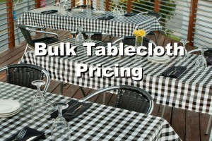 bulk tablecloth pricing