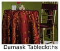 Home Damask Tablecloths