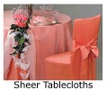 Home Sheer Tablecloths